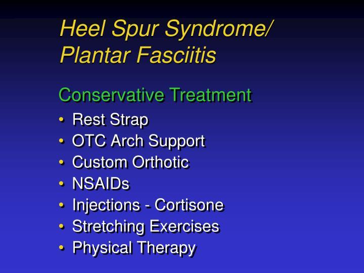 Heel Spur Syndrome/