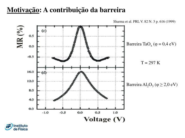 Sharma et al. PRL V. 82 N. 3 p. 616 (1999)