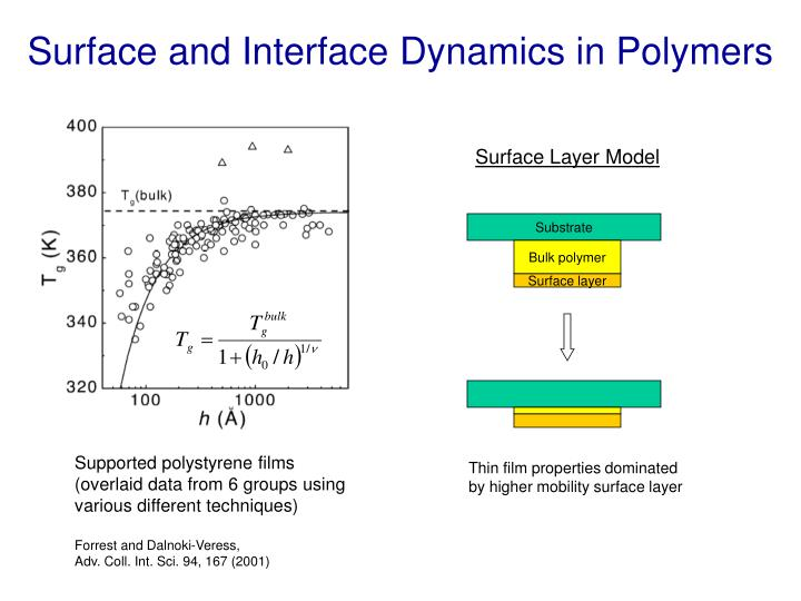 Surface and Interface Dynamics in Polymers