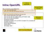 inline openurl