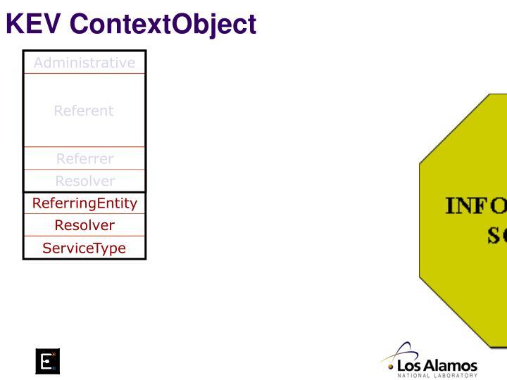 KEV ContextObject