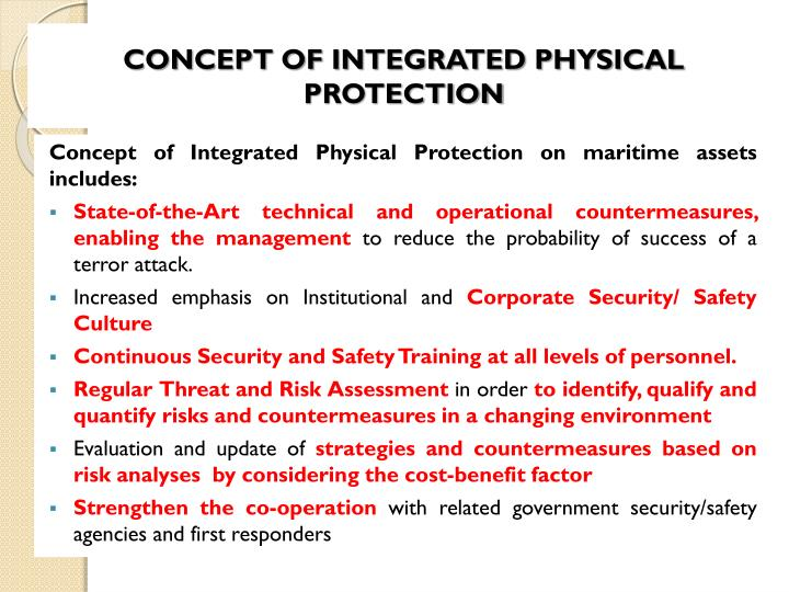 CONCEPT OF INTEGRATED PHYSICAL PROTECTION
