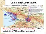 crisis preconditions