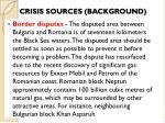 crisis sources background