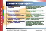evaluaci n de los objetivos2
