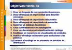objetivos parciales