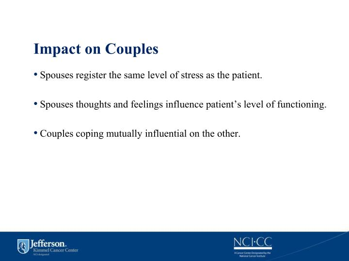 Impact on Couples