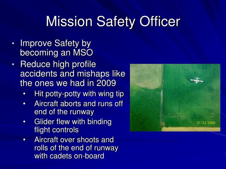 Mission Safety Officer
