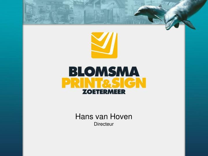 Hans van Hoven