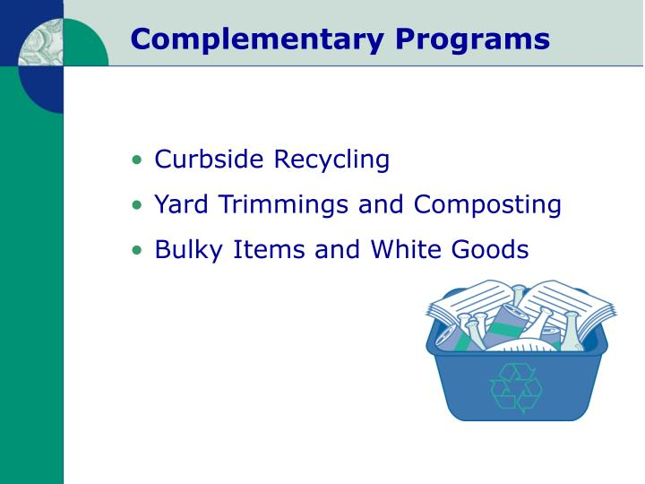 Complementary Programs