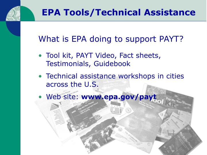 EPA Tools/Technical Assistance