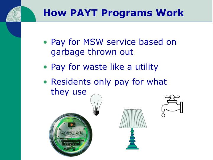 How PAYT Programs Work