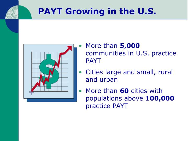 PAYT Growing in the U.S.