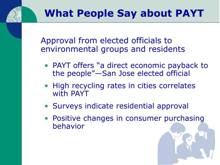 What People Say about PAYT