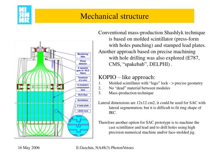Mechanical structure
