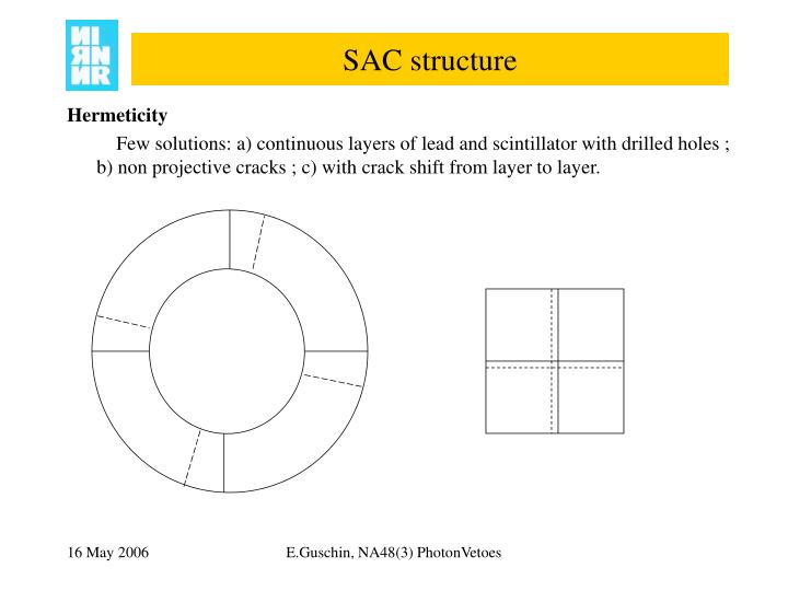 SAC structure