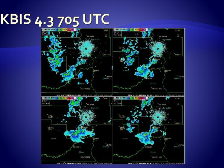 KBIS 4.3 705 UTC
