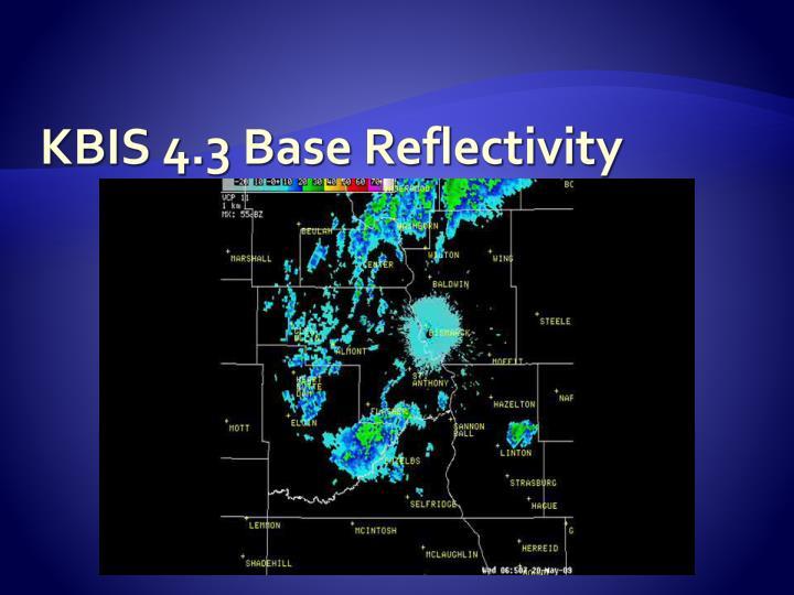 KBIS 4.3 Base Reflectivity