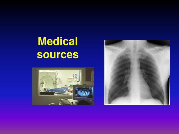 Medical sources