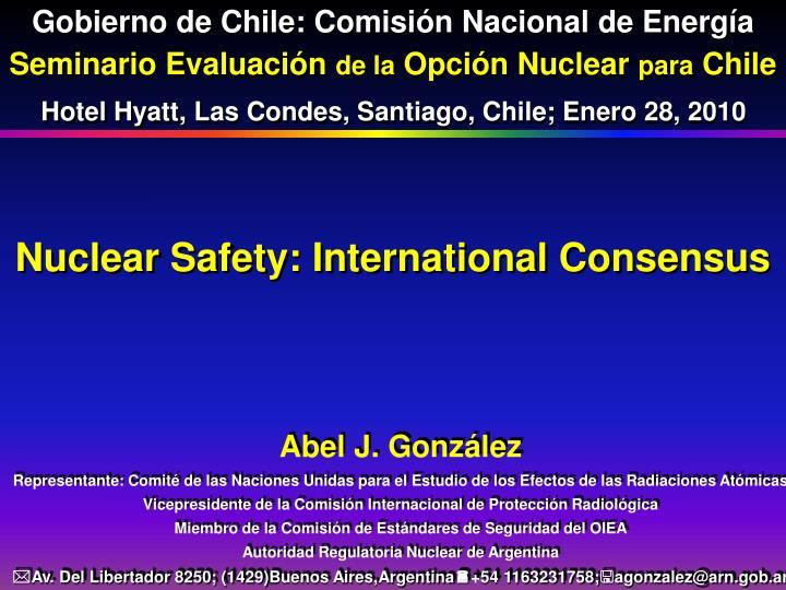 Gobierno de Chile: Comisión Nacional de Energía