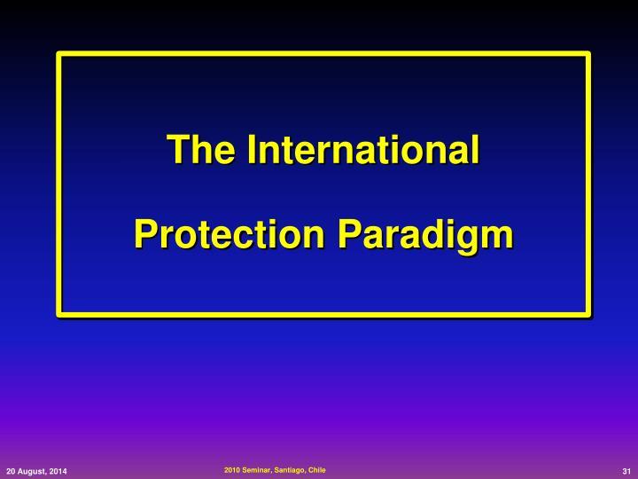 The International                  Protection Paradigm