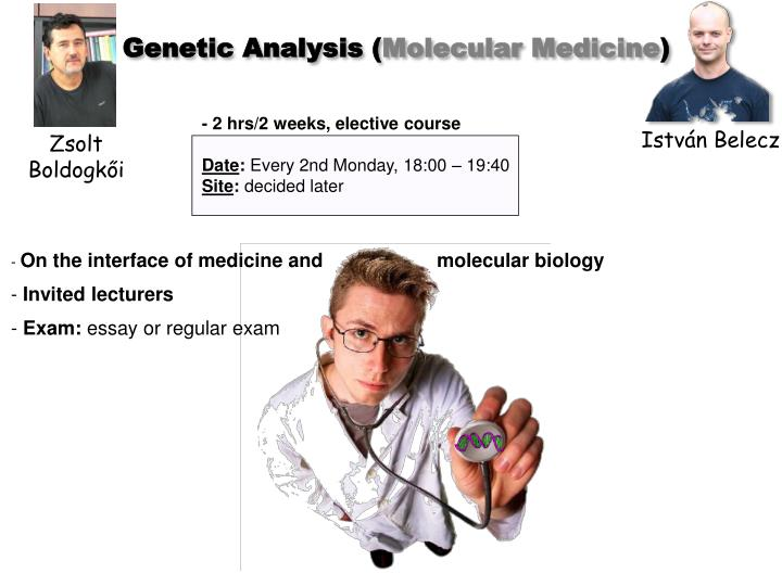 Genetic Analysis (