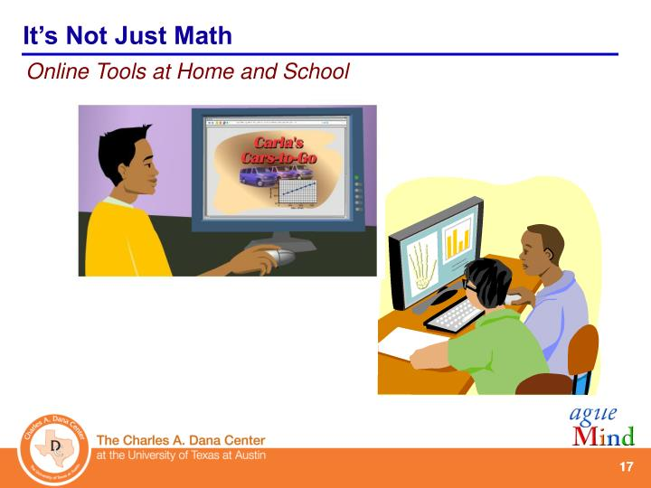 It's Not Just Math