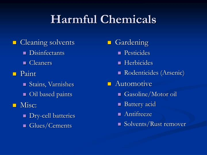 Cleaning solvents