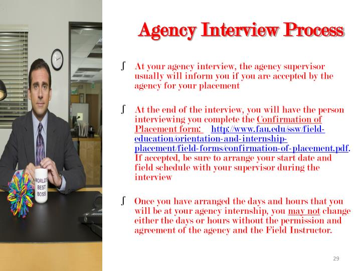Agency Interview Process
