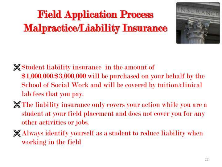 Field Application Process