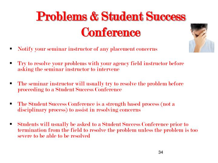 Problems & Student Success Conference