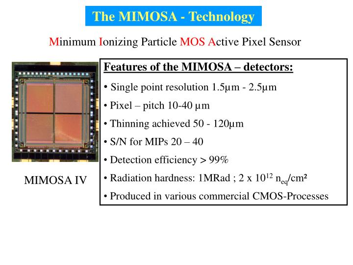 The MIMOSA - Technology
