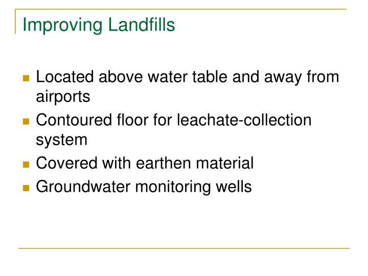 Improving Landfills