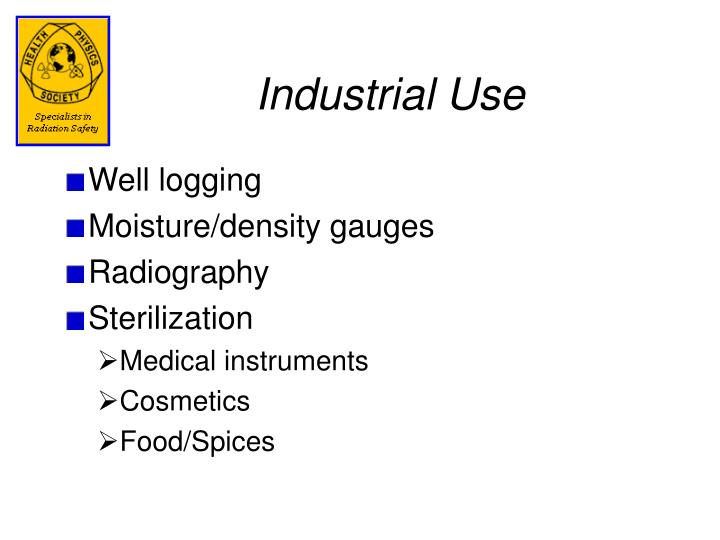 Industrial Use