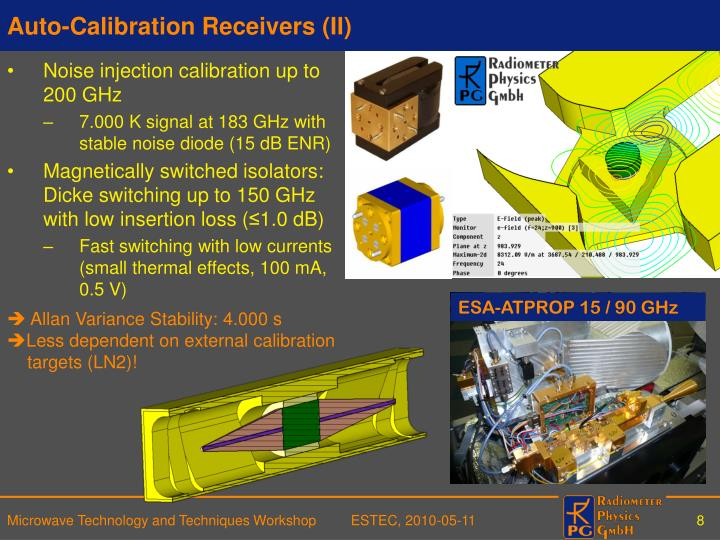 Auto-Calibration Receivers (II)