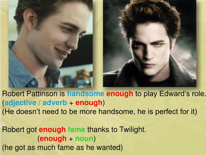 Robert Pattinson is