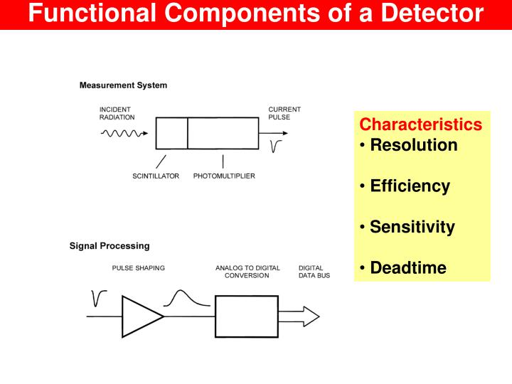 Functional Components of a Detector