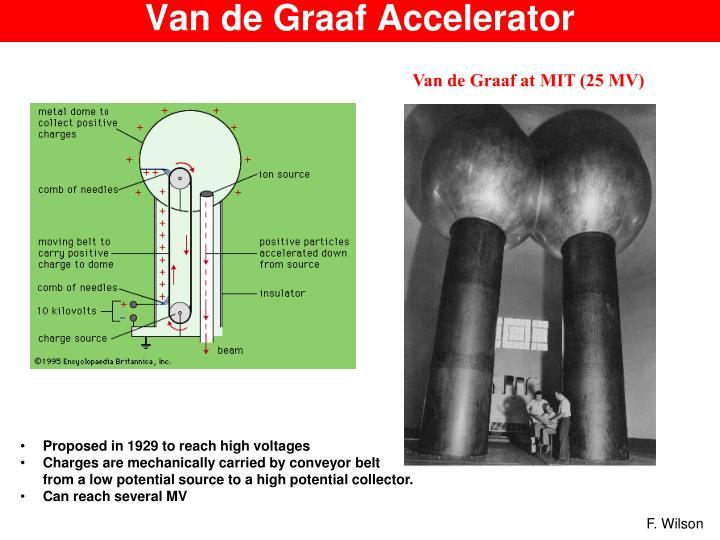 Van de Graaf Accelerator