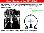 victor hess and the 1912 flight