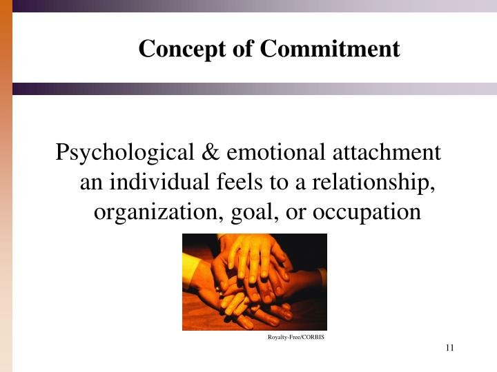 Concept of Commitment