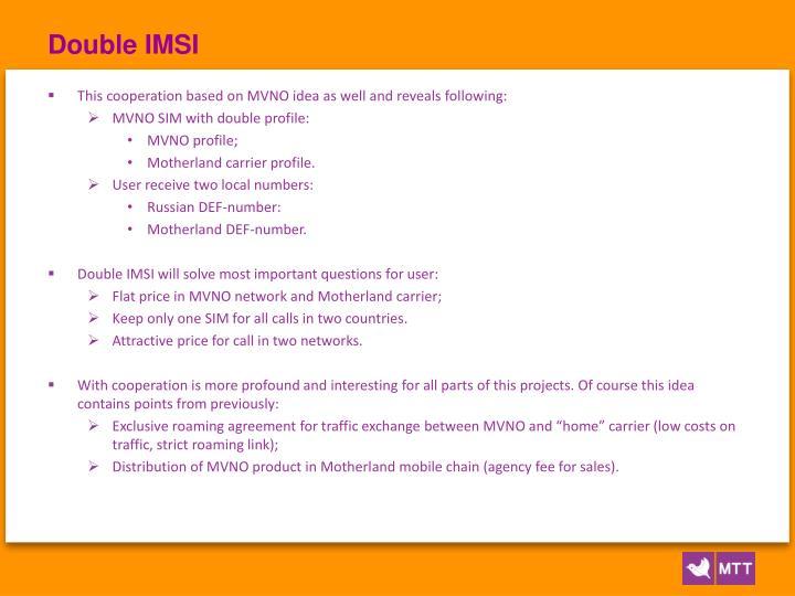 Double IMSI