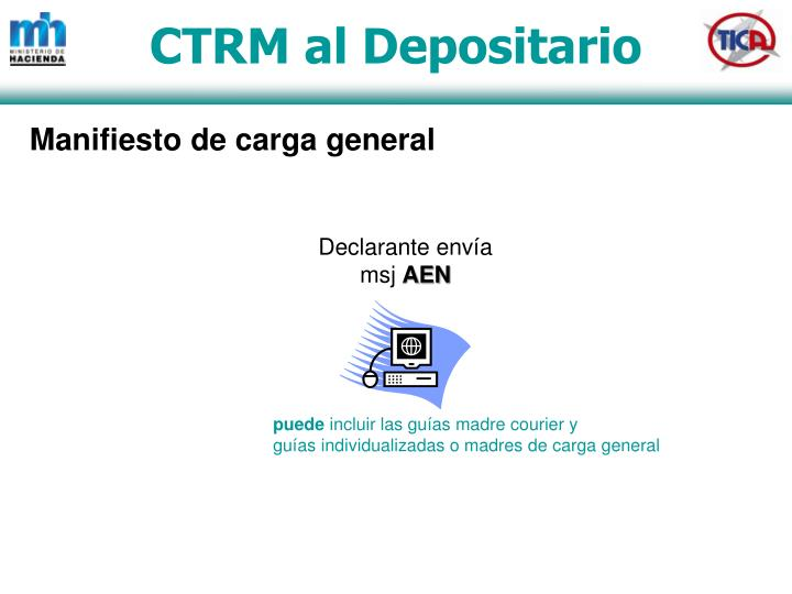 CTRM al Depositario