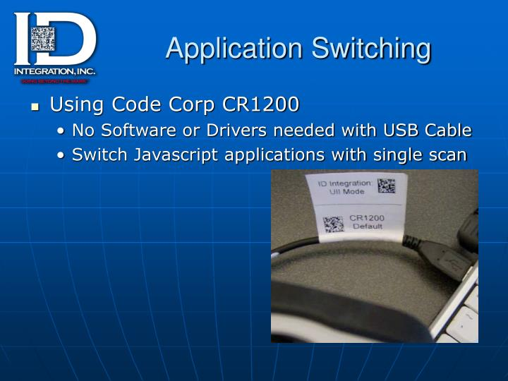 Application Switching