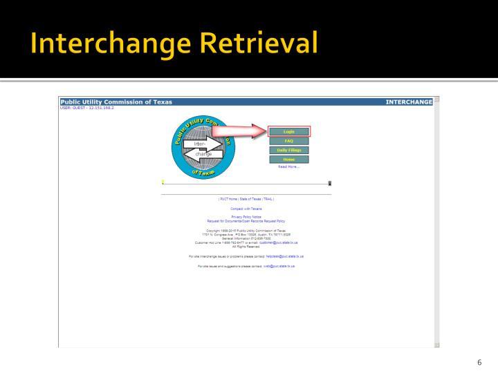Interchange Retrieval