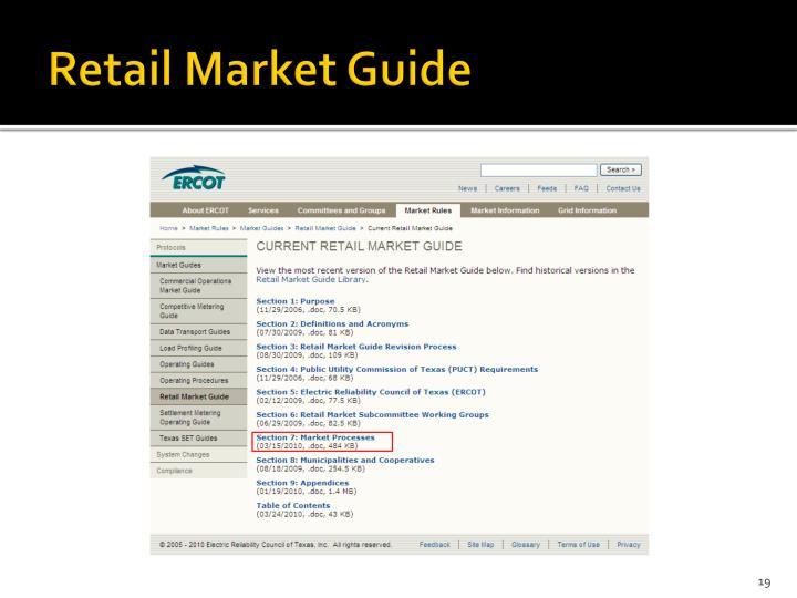Retail Market Guide