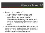 what are protocols
