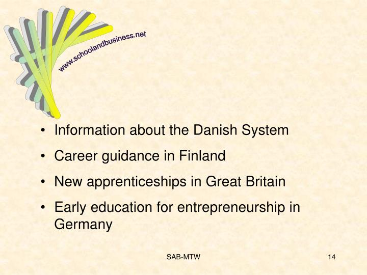 Information about the Danish System