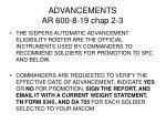 advancements ar 600 8 19 chap 2 3