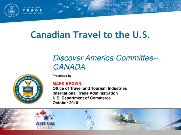 Canadian travel to the u s