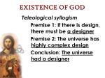 existence of god12